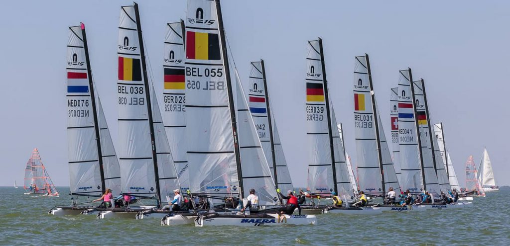 Nacra 15 scaled up to 60 entries