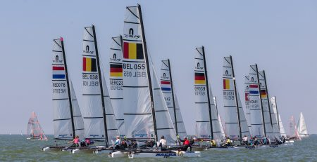 Nacra at the Dutch Youth Regatta