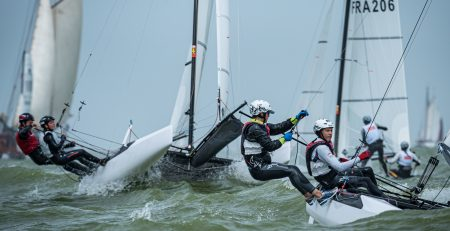 Dutch Youth Regatta 2019 day one sailed in choppy conditions