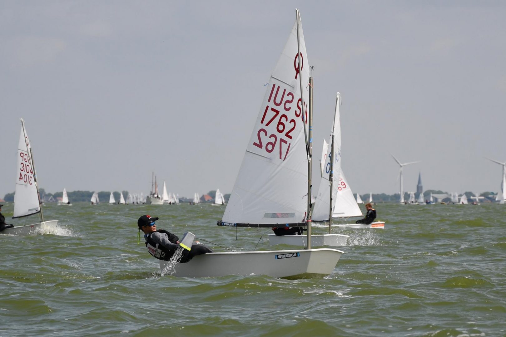 Early leads and failed missions at Dutch Youth Regatta