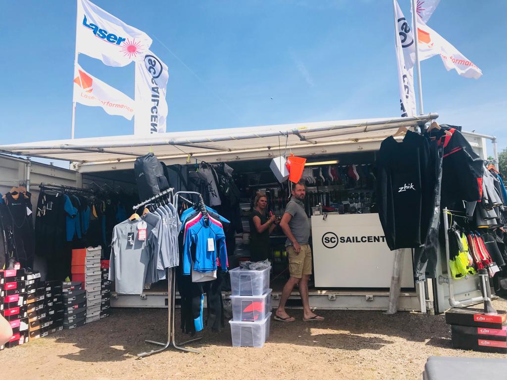 Sailcenter at the Dutch Youth Regatta 2019