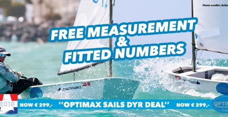 Special Optimax deal for the Dutch Youth Regatta