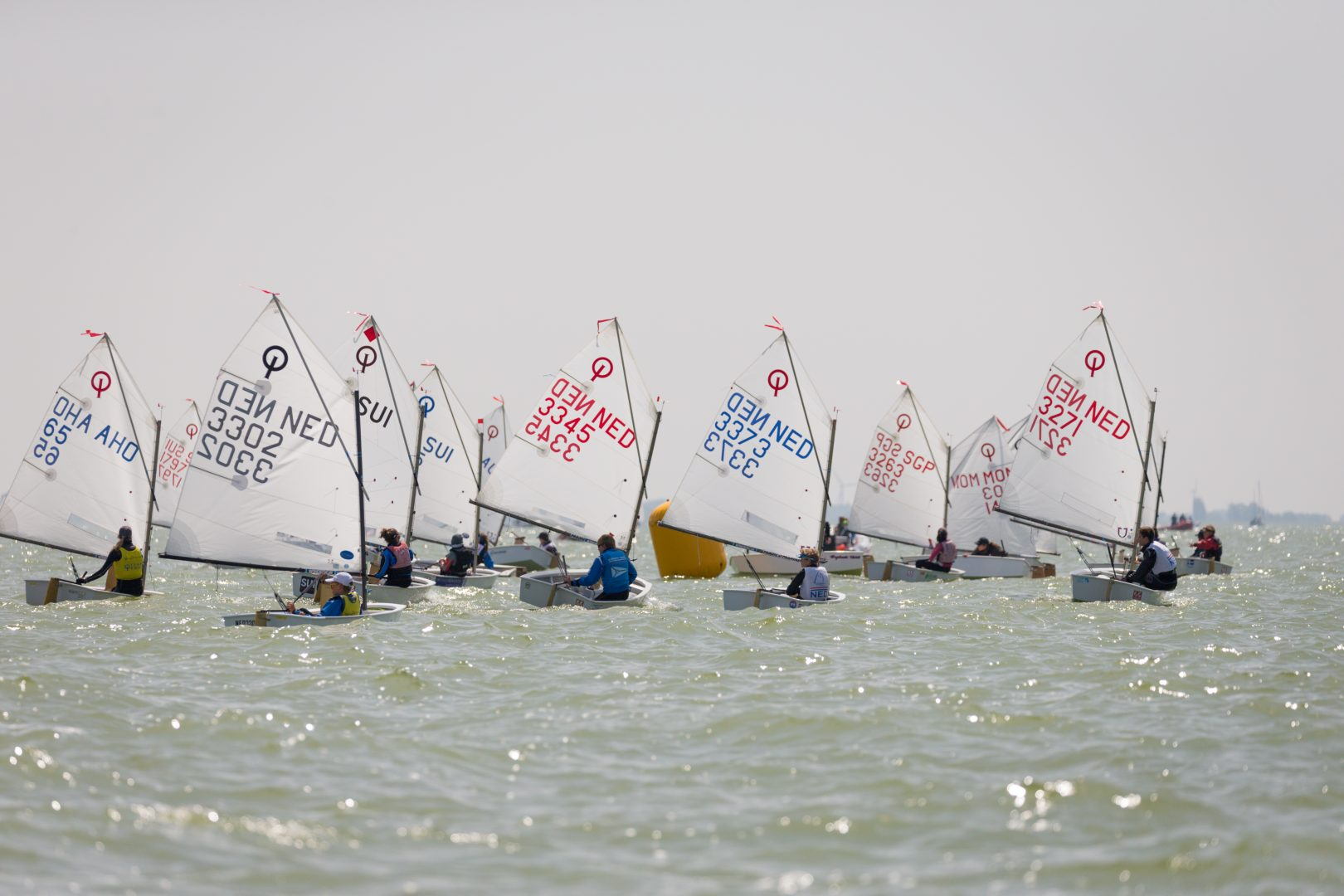 Dag drie Dutch Youth Regatta